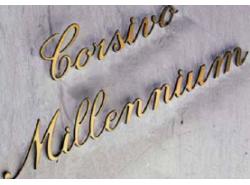 Lettere in colore oro