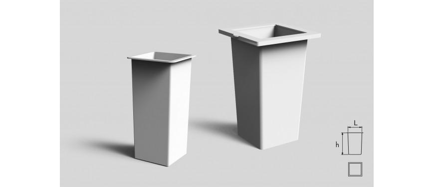 Interni per vasi - Quadrata