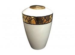 Urna Ceramica Raku Bianca - LMURNARAKUBIANCA