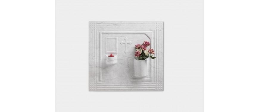 a006 Art. 2/1/I Copriloculo piatto con croce
