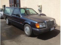 Mercedes E124 250TD Blue