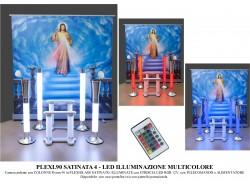 Arredi funebri camera ardente plexiglass Plexi.90 satinata LED