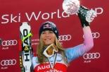 Lindsey Vonn disperde le ceneri del nonno sulla pista delle Olimpiadi