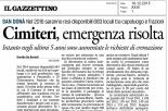 Rassegna Stampa del 16/12/2015 - Articolo del Gazzettino