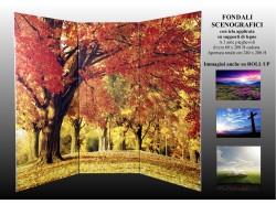 Fondali paraventi scenografici paesaggi - 0014