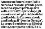 Rassegna Stampa del 10/02/2016 - Articolo de Il Messaggero